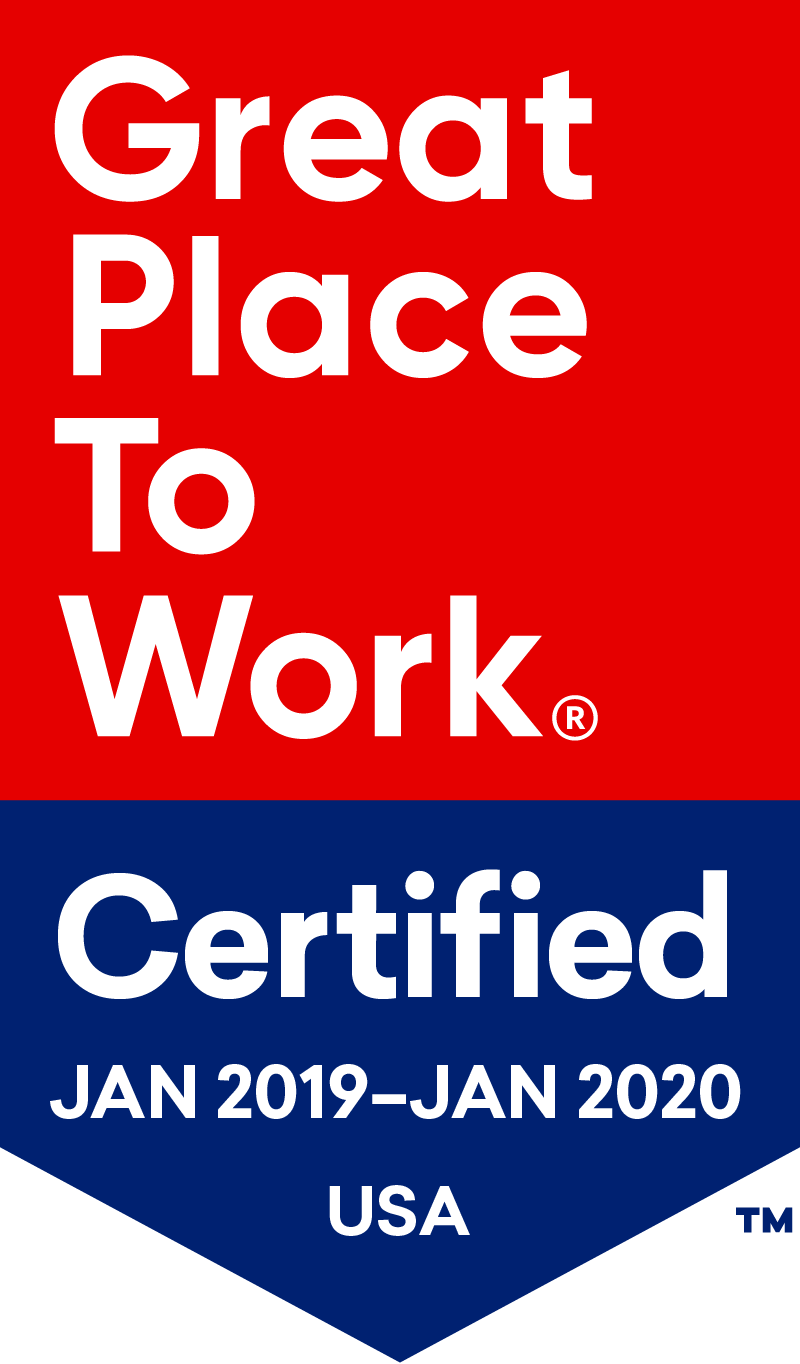 Great Place to Work®: Jan 2019 — Jan 2020