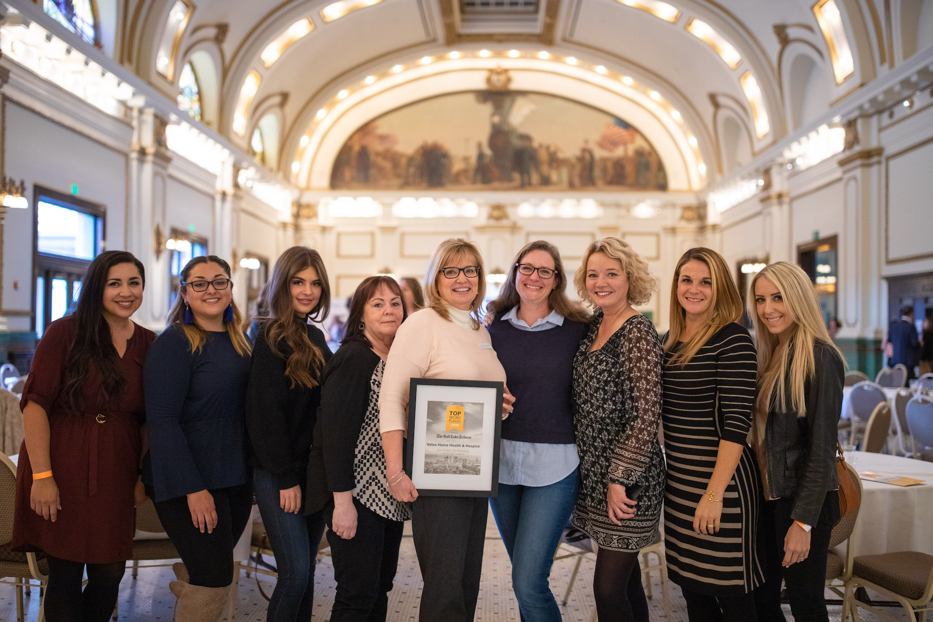 Valeo Named Top Workplace for Second Year Running